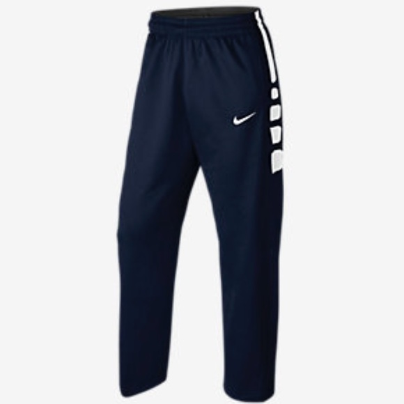8f4570f6144e Nike Men s Therma Elite Pants Navy White